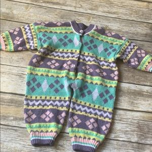 Other - Vintage Sweater one Piece